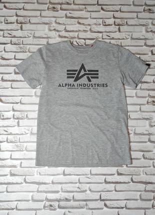 Футболка alpha industries