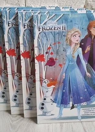 Frozen Холодное сердце адвент календарь с шоколадом