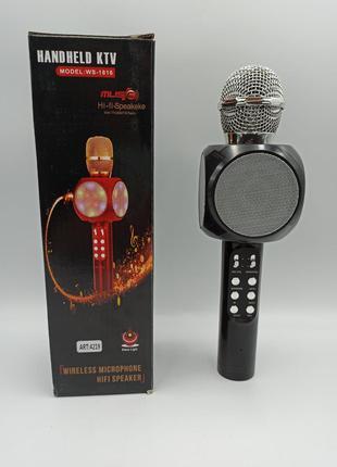 Микрофон с функцией Караоке Wster 1816 Karaoke MP3 Player USB ...