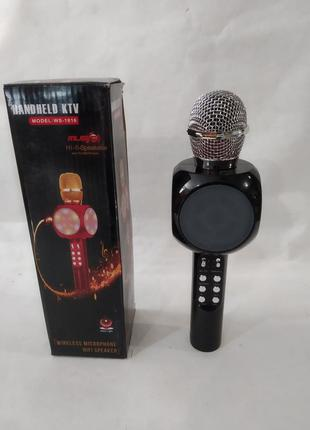 Микрофон-колонка bluetooth WS-1816