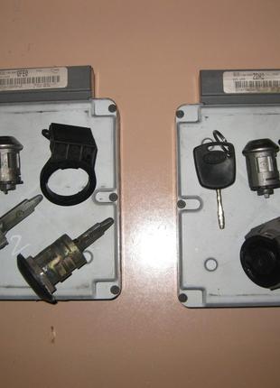 ЭБУ Блок управления двигателем ключ замок Форд Транзит 2000-2006г