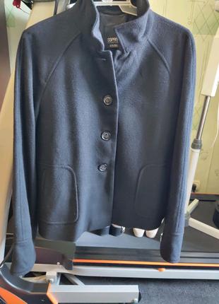 Курточка пальто полупальто пиджак жакет шерсть новый 48 р