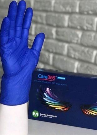 Перчатки нитриловые Care 365