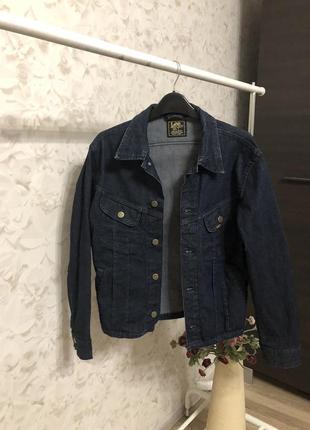 Джинсовая куртка lee оригинал!