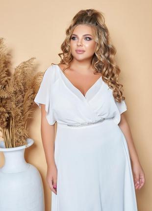 Очень нежное платье можно как свадебное