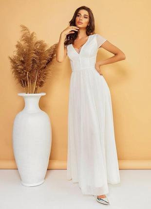 Нежненькое свадебное платье