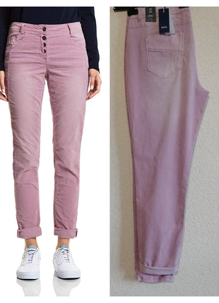 Cecil - мягкие вельветовые брюки hailey цвета dusty rose