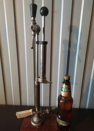 Ручной насос для розлива пива из КЕГ