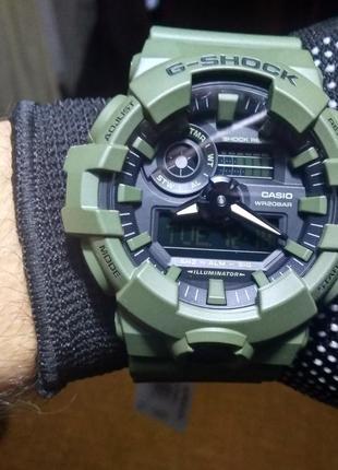Часы наручные мужские Casio G-shock GA-700UC-3A новые, оригинал