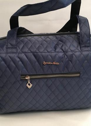 Распродажа. женская стеганая сумка.