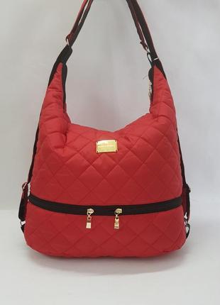 Модный и стильный трансформер! сумка-рюкзак!