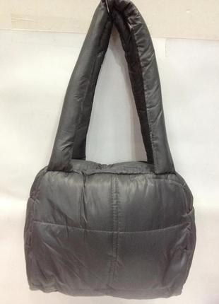 Дутая женская сумочка, стёганая сумка