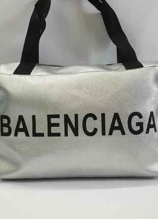 Спортивная, дорожная, повседневная сумка из экокожи.