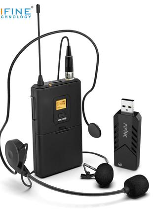 Микрофон петличка Fifine K031B (новый, запечатанный)