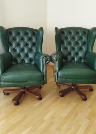 Новое кабинетное кресло garne kriselechko, ручная работа, крісло