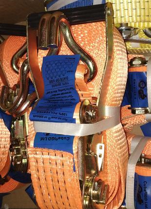 Стяжные ремни для крепления груза 5тонн, 8.5 метров