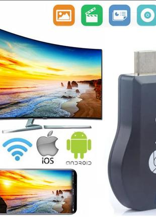 Беспроводной ретранслятор экрана hdmi Miracast адаптер для тв ...