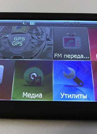 GPS навигатор 5 дюймов DDR2 128Mb 8Gb GPS-5002 SKU_757