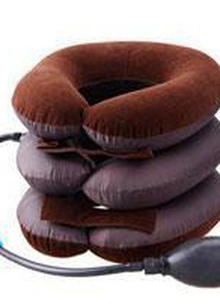Надувной ортопедический воротник для шеи Ting Pai, подушка для...
