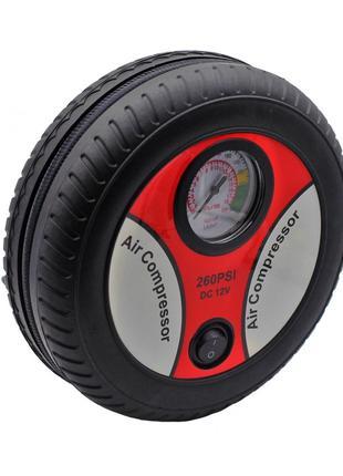 Мощный Автокомпрессор для Быстрой подкачки колес Air Compresso...