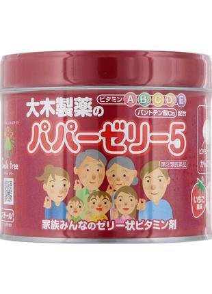 Витамины для детей из японии papa jelly 1 уп. /4 мес.