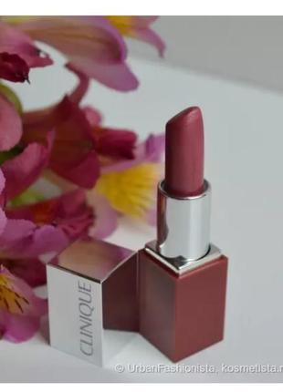 Помада-миниатюра clinique pop lip color