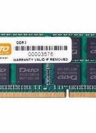 Оперативная память Dato DDR3 4GB 1600MHz (4GG2568D16L) Новая