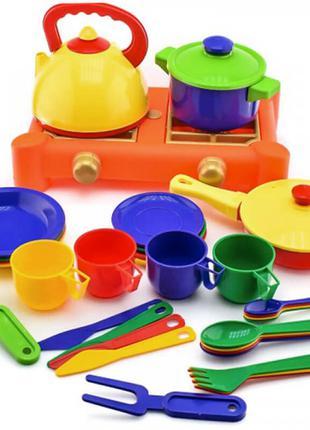 Набор посудки детский (34 предмета)