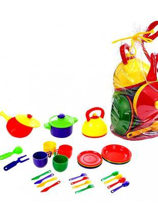 Набор посудки детский (33 предмета)