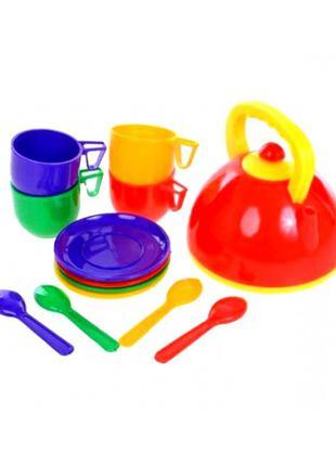 Посудка детская с чайником (13 предметов)