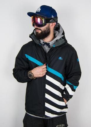 Сноубордическая rip curl горнолыжная куртка dc vans burton volcom