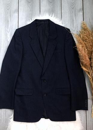 🔥акция 3=5🔥tezzner шикарный мужской пиджак шерстяной синий раз...