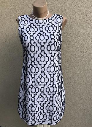 Фактурное платье,сарафан,вышивка тесьмой,лён,хлопок,