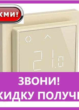 Терморегулятор Devireg SMART ivory Wi-Fi программируемый (140F...