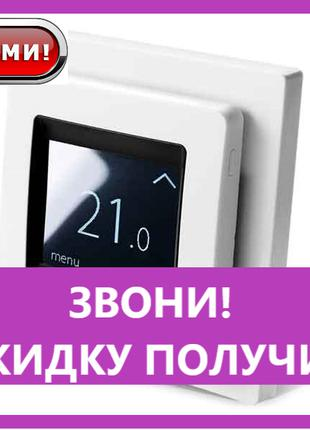 Терморегулятор Devireg TOUCH white программируемый (140F1064),...