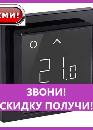 Терморегулятор Devireg SMART black Wi-Fi программируемый (140F...