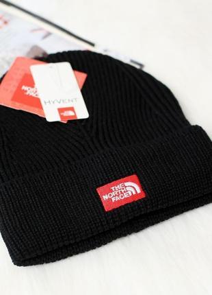 Распродажа! the north face зимняя шапка черного цвета/унисекс ...