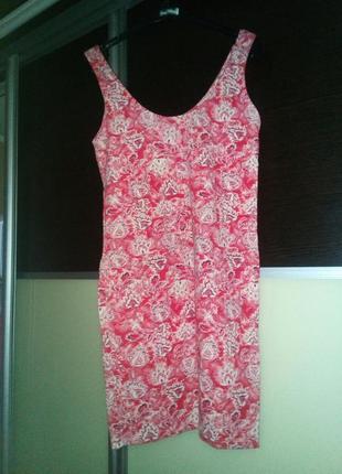 Платье майка bershka  размер 30 l