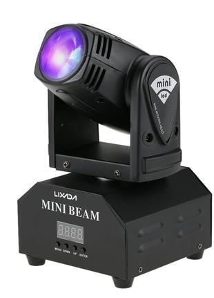 Вращающаяся голова Lixada Mini Moving Head Beam RGBW DS-641