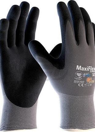 Защитные перчатки с нитрильным покрытием MaxiFlex® Ultimate™
