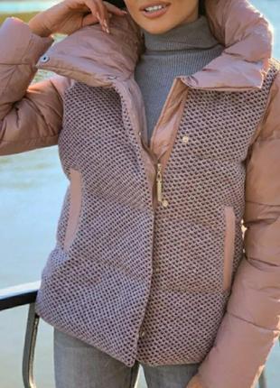 Оригинальная женская куртка,пуховик, см.замеры в описании