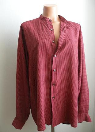 Мужская рубашка сорочка ralph lauren