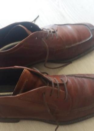 Мужские кожаные ботинки, сапоги esprit германия, размер 42
