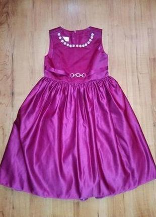 Красивое платье детское нарядное на 6-7 лет