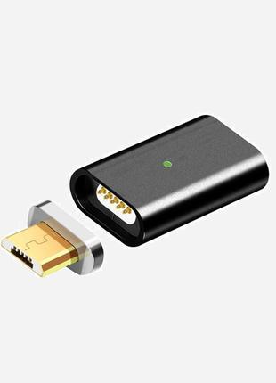 Магнитный адаптер переходник для телефонов в порт micro USB