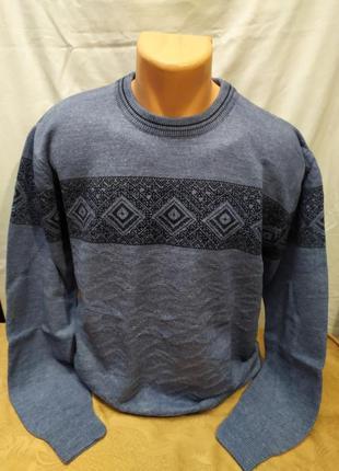 Модный мужской свитер. расцветки. турция