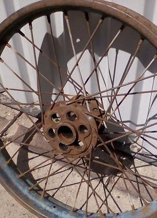 Диск на мотоцикл задний ИЖ 49