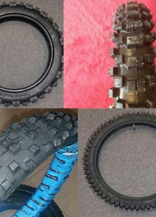 Резина пита питбайк колесо покрышка 17/ 14 скат камера kayo pi...