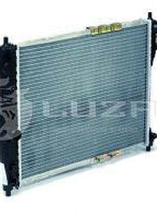 Радиатор охлаждения Ланос б/конд (алюм-паяный) Luzar