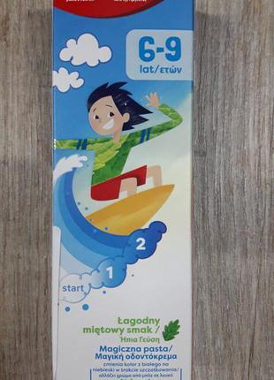 Colgate 6-9 лет детская зубная паста от кариеса налета, меняет...